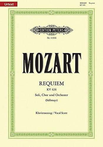Requiem KV626 (Sussmayr) - Chant (SATB) et Piano