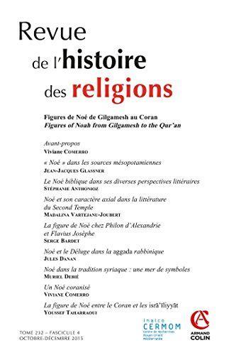 Revue De Lhistoire Des Religions Tome 232 4