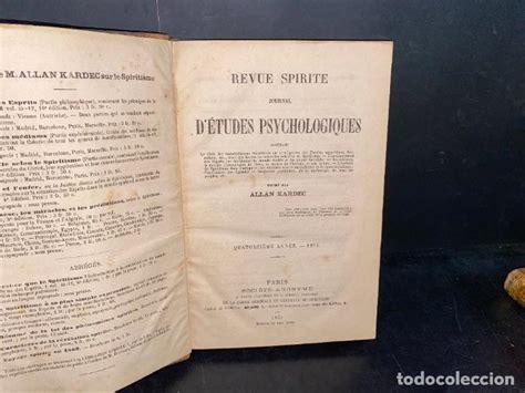 Revue Spirite (Année 1864): Journal d'études psychologiques