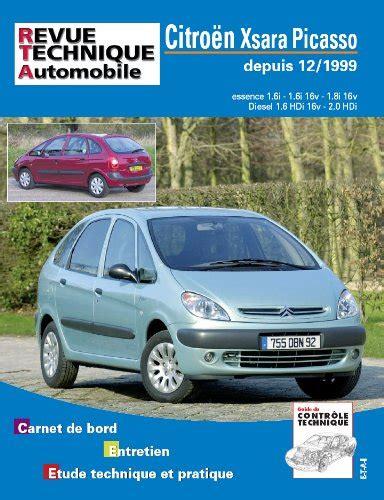 Revue Technique Automobile Xsara Picasso Essence et Diesel (12/1999>)