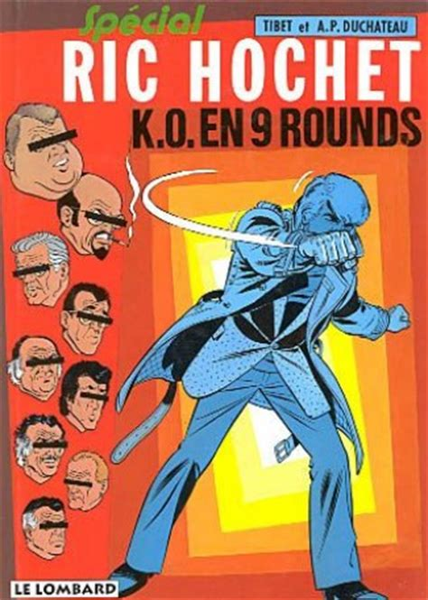 Ric Hochet Tome 31 K O En 9 Rounds Special Ric Hochet