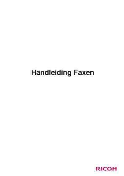 Ricoh 1130l Service Manual