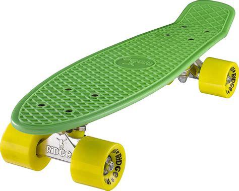 Ridge 22 Skateboard Mini Cruiser Complet Avec Gros Roues 70mm