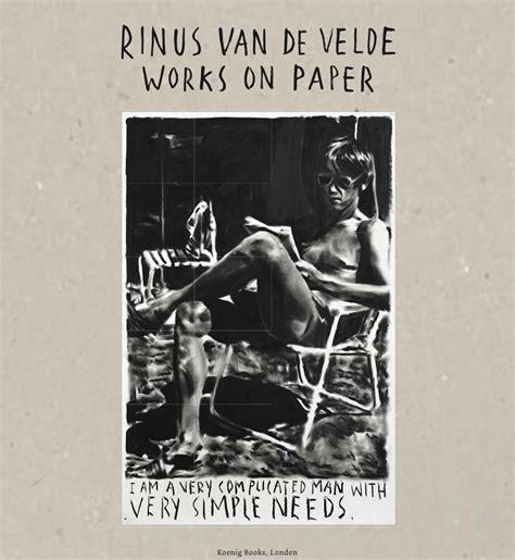 Rinus Van De Velde Works On Paper