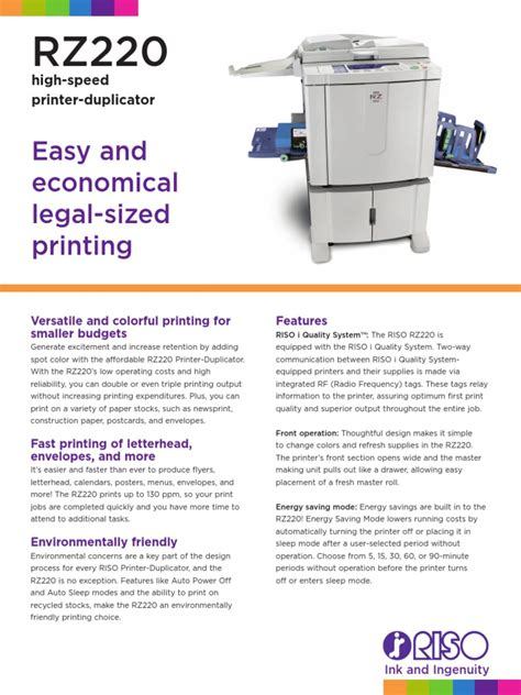 Risograph Tr Series Service And Parts Manual