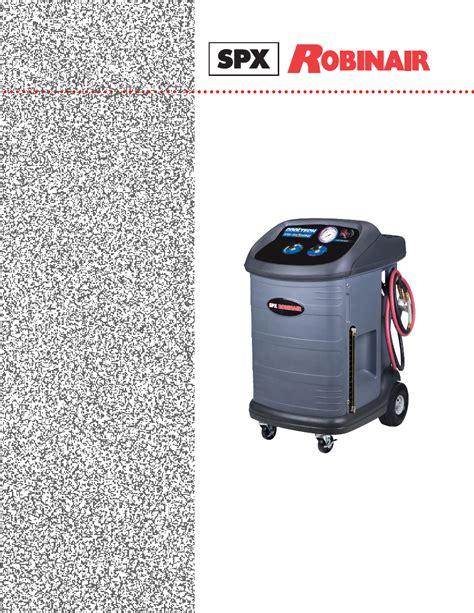 Robinair 34300 Manual