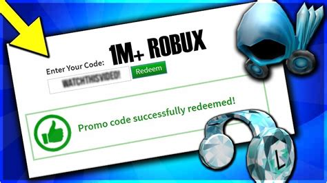 The 5 Things About Roblox 1 Million Robux Promo Code