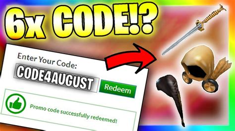 2 Myth About Roblox August 2021 Promo Codes