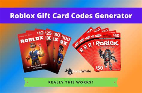 4 Secret Of Roblox Gift Card Generator 2021
