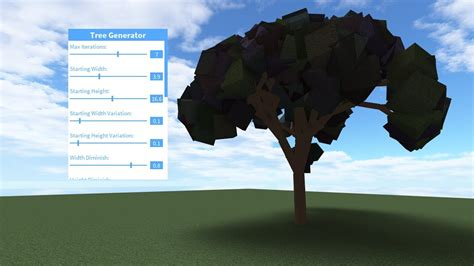 A Guide To Roblox Tree Generator
