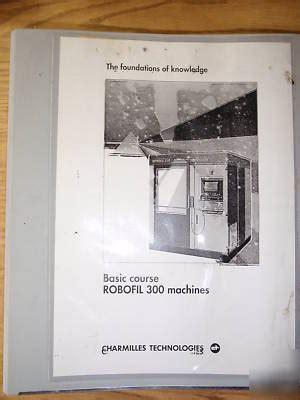 Robofil 310 Manual