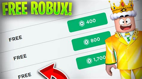 The 5 Things About Robux For Free 2021