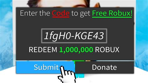 5 Secret Of Robux Real Codes