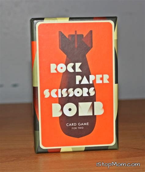 Rock, Scissors, Paper, Bomb: Card Game for Two