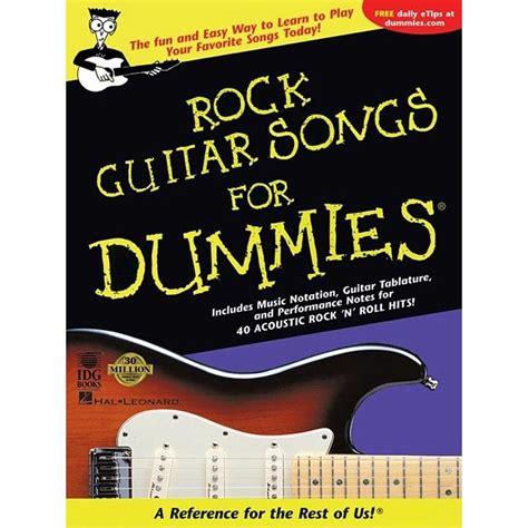 Rock Guitar Songs For Dummies