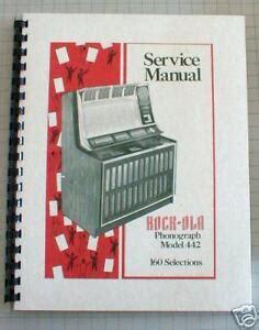 Rockola 442 Service Manual