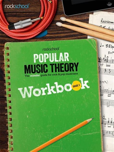 Rockschool Popular Music Theory Workbook Grade 3 Bk