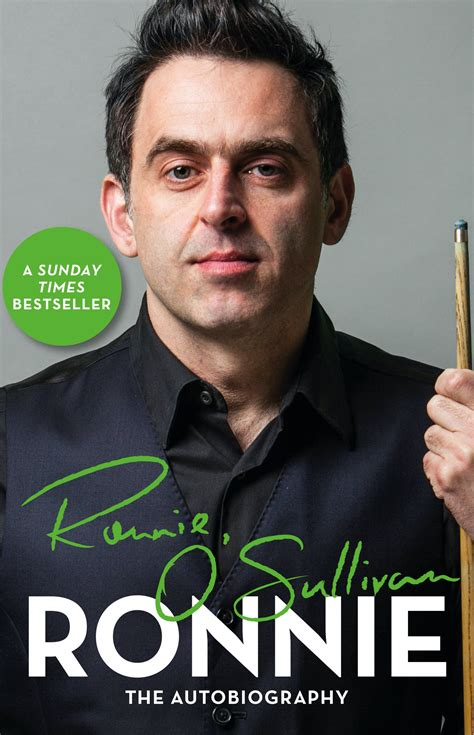 Ronnie The Autobiography Of Ronnie O Sullivan