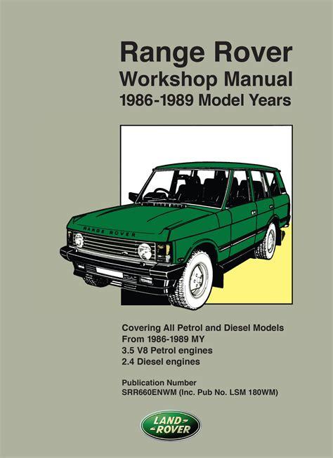 Rover Workshop Manual