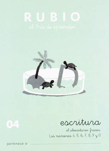Rubio 04 Caligrafia Escolar Rubio