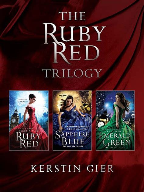 Ruby Red Ruby Red Trilogy
