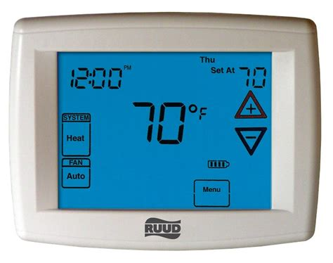 Ruud 300 Thermostat Manual
