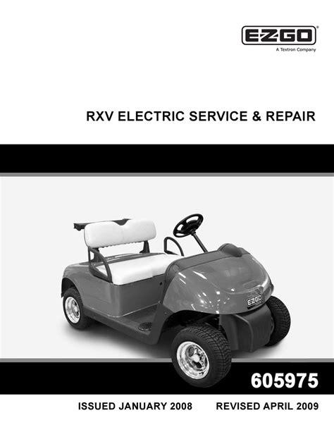 Rxv Repair Manual