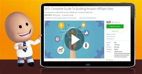 SEO: Complete Guide To Building Amazon Affiliate Sites