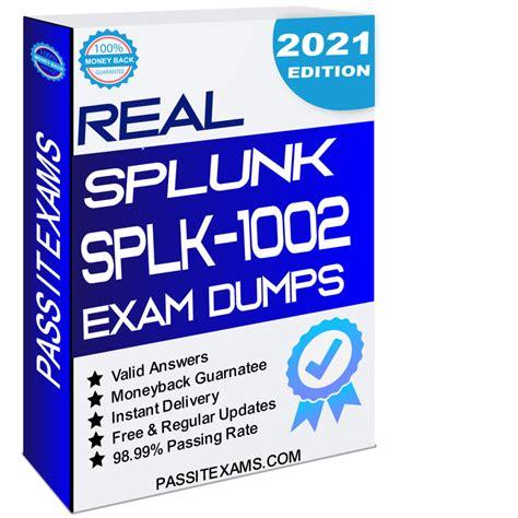 SPLK-1002 Dumps Cost