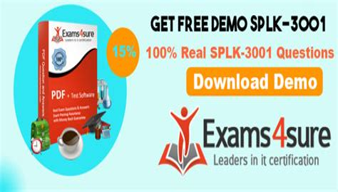 SPLK-3001 Latest Test Preparation