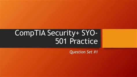 SYO-501 Reliable Test Syllabus