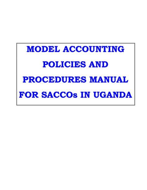 Sacco Operations Manual
