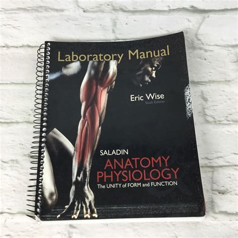Saladin 6th Edition Lab Manual