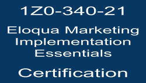 Sample 1Z0-340-21 Exam