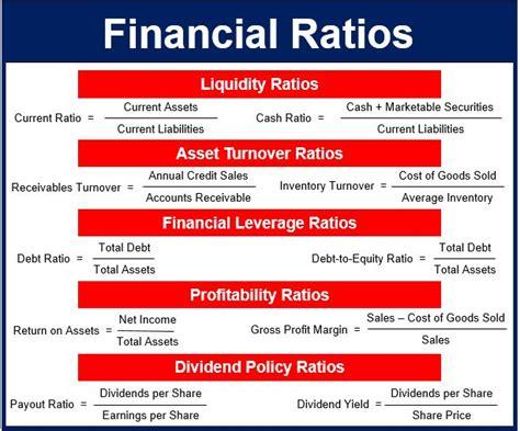 Sample Business Ratios Guide