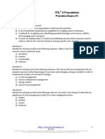Sample ITSM-Fnd Questions