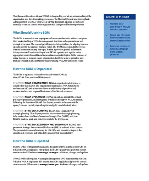 Sample Restaurant Operation Manual