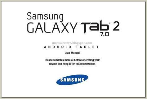 Samsung Galaxy Tab 2 Manual Uk