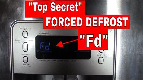 Samsung Manual Defrost Mode