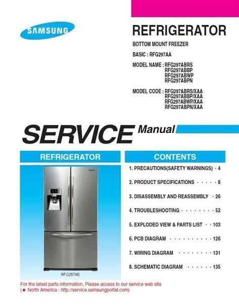 Samsung Rb215acwp Service Manual Repair Guide
