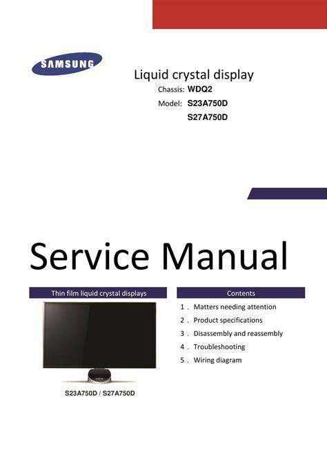 Samsung Rsh5zepn Service Manual And Repair Guide