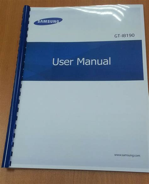 Samsung S3 Manual Instruction