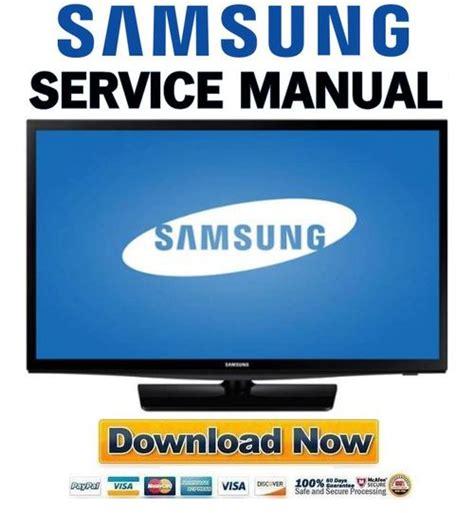Samsung Un24h4000 Un24h4000af Un24h4000afxza Service Manual