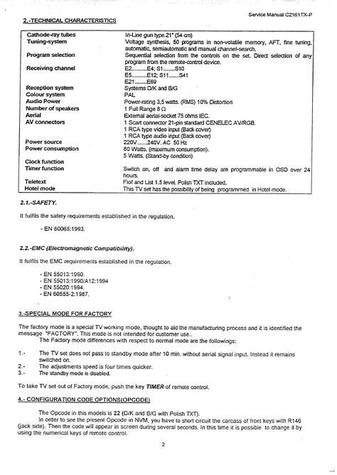 Sanyo C2161tx Color Television Service Manual