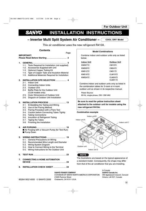 Sanyo Clm 19 24 31 72 Series Service Manual