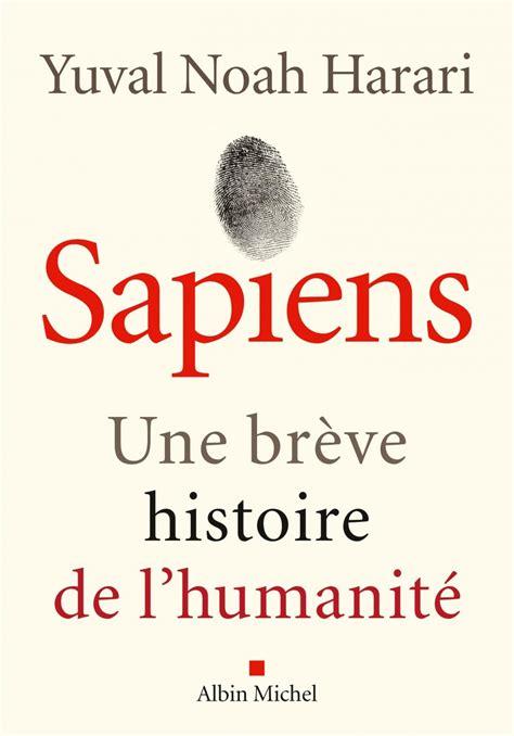 Sapiens une brève histoire de l'humanité
