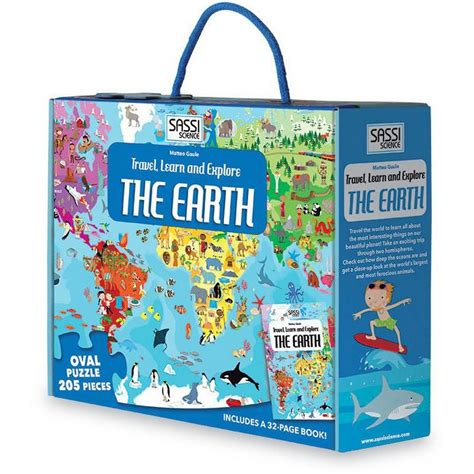 Sassi Travel, Learn and Explore The Earth Puzzle (Travel, Learn, Explore)