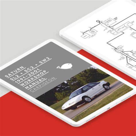 Saturn Sw2 Workshop Repair And Service Manual