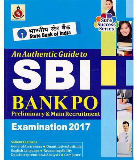 Sbi Bank Po Guide