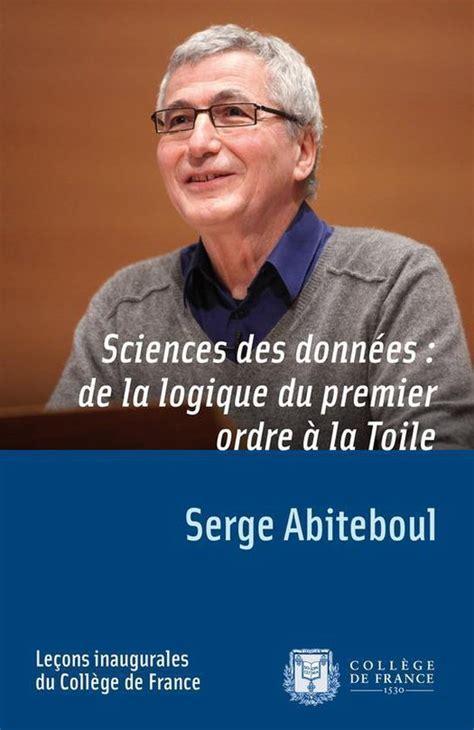 Sciences Des Donnees De La Logique Du Premier Ordre A La Toile